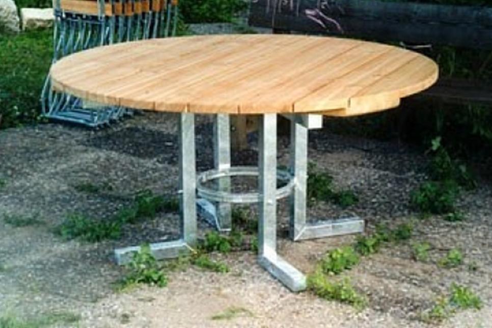 Gartenmöbel Tisch rund