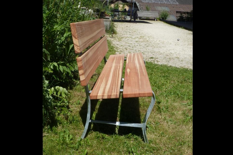 Klassische Gartenbank Lärche